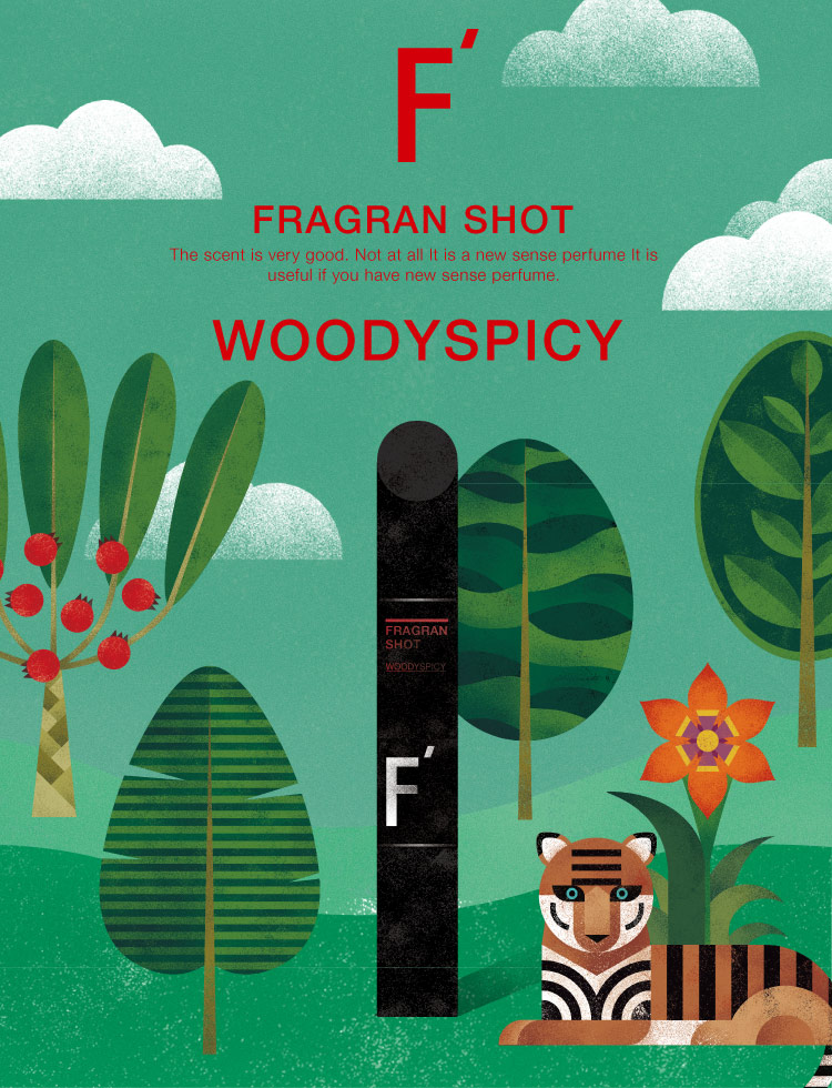 FRAGRAN SHOT WOODYSPICY