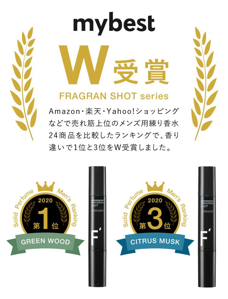 mybest W受賞